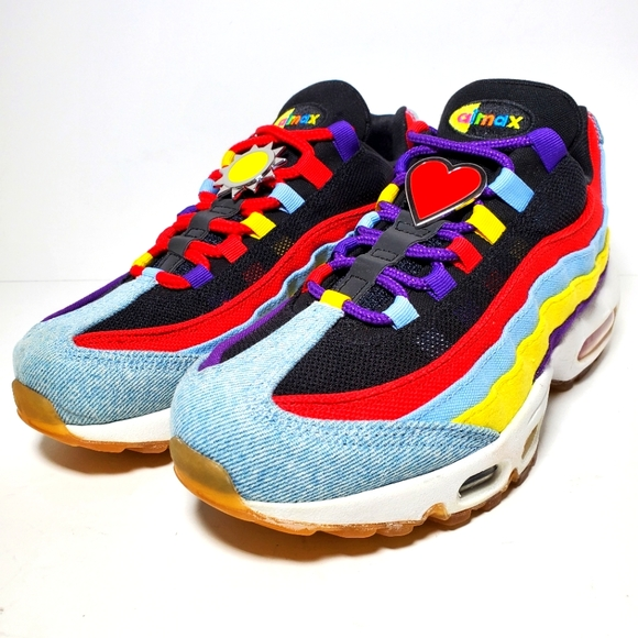 Nike Shoes | Nike Air Max 95 Sp Multicolor Mens 7womens 85 | Poshmark